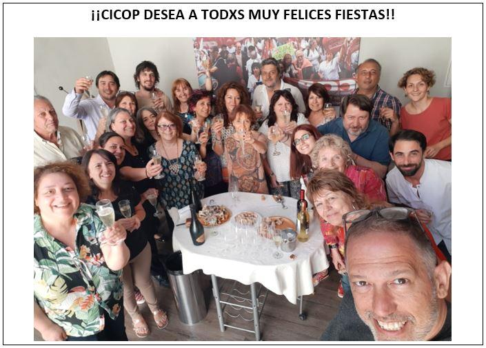 ¡¡CICOP DESEA A TODXS MUY FELICES FIESTAS!!